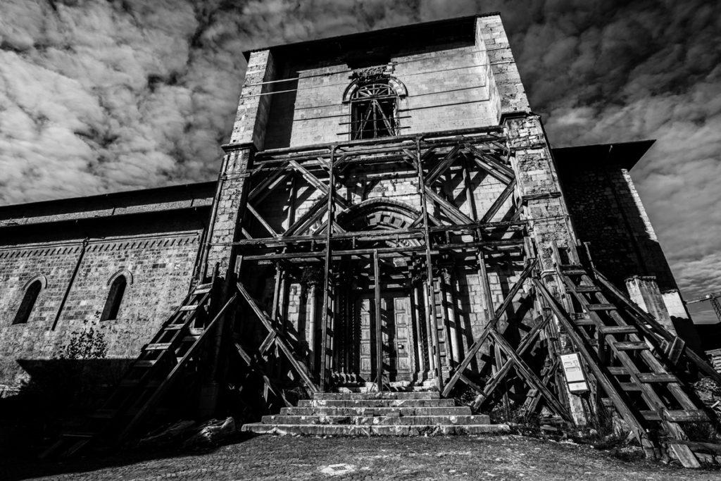 LAquila_Silvia-Cleri-chiesa-di-san-domenico-terremoto