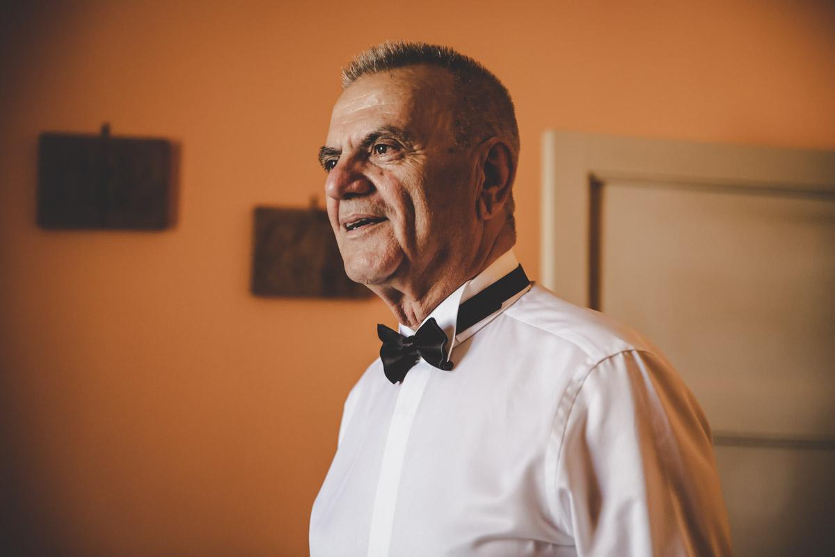 SILVIA CLERI REAL WEDDING IL PAPA' SPOSA