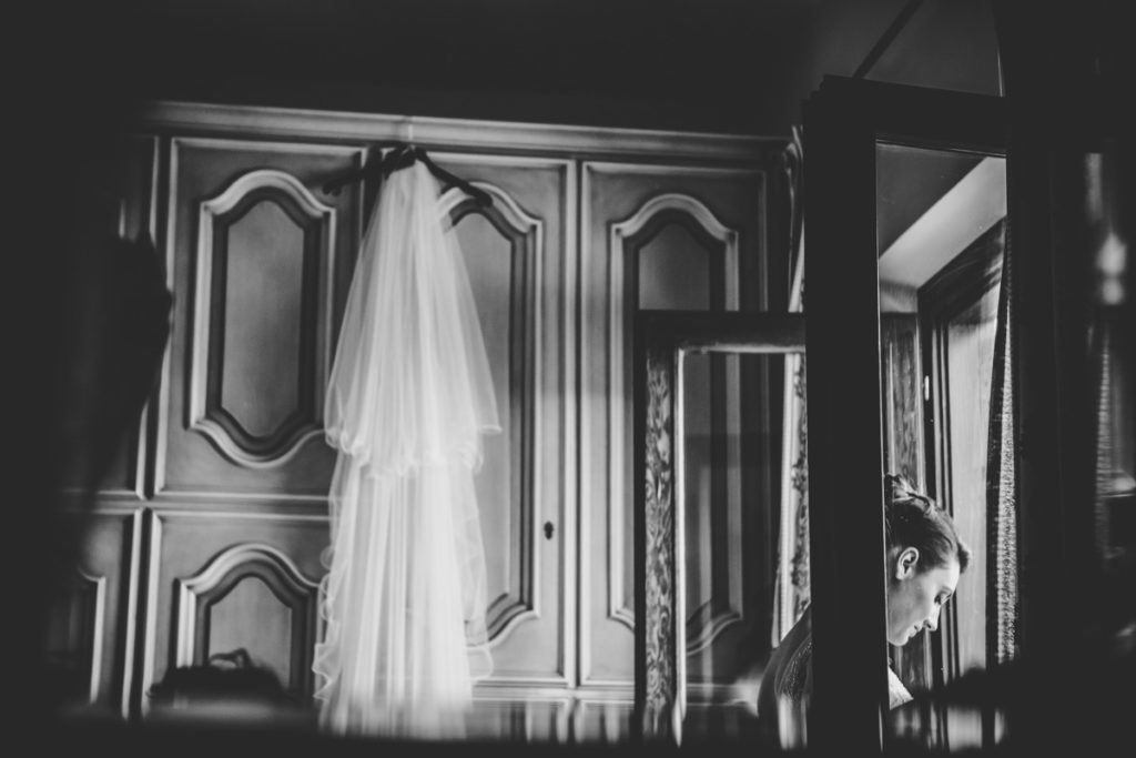 matrimonio nel lazio - sposa si prepara