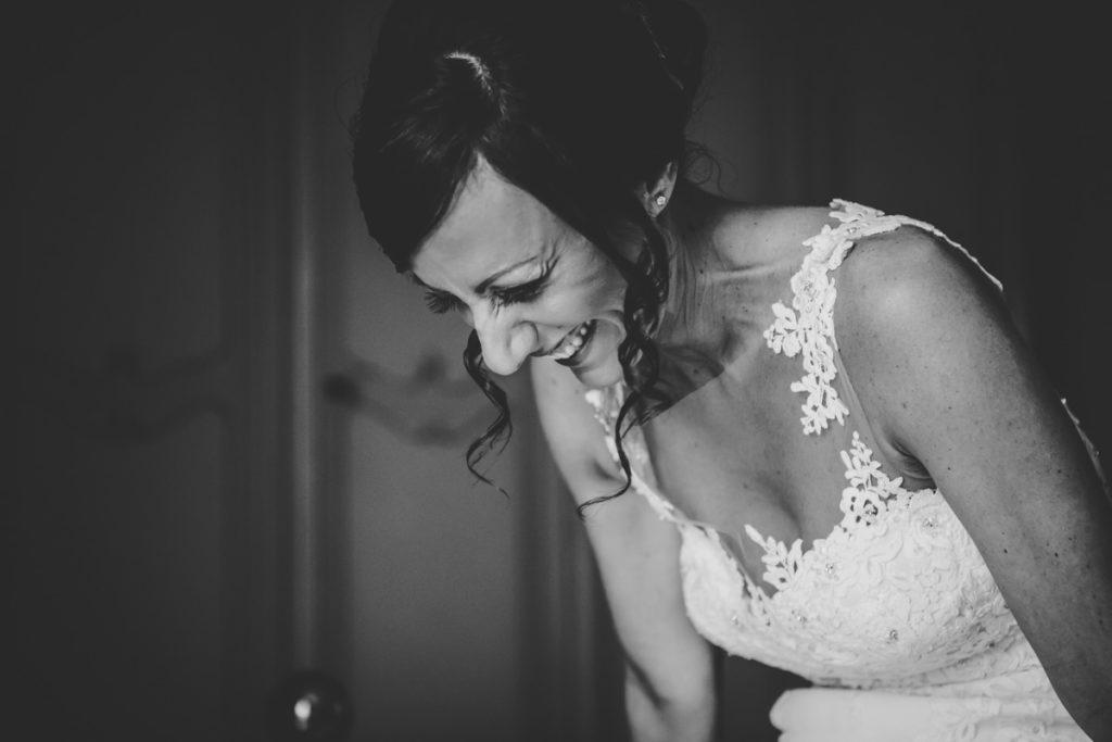 matrimonio a milano - sorriso sposa