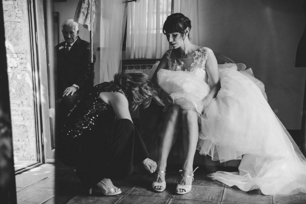 matrimonio a roma - tenuta san liberato - getting ready - preparativi sposa