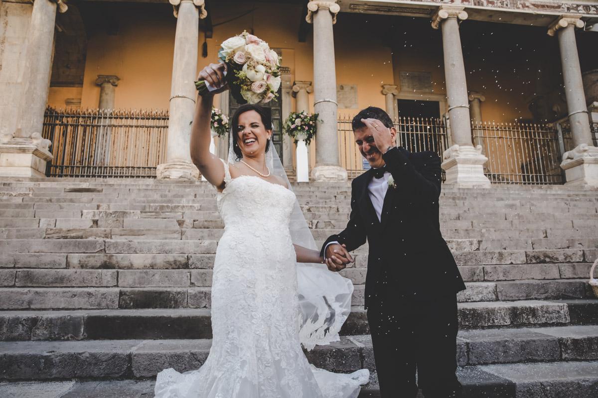 SILVIA CLERI REAL WEDDING IL LANCIO DEL RISO