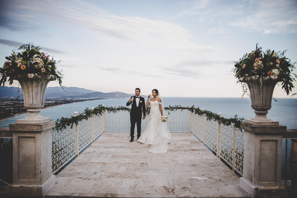 SILVIA CLERI REAL WEDDING MATRIMONIO A TERRACINA LA LIBRATA