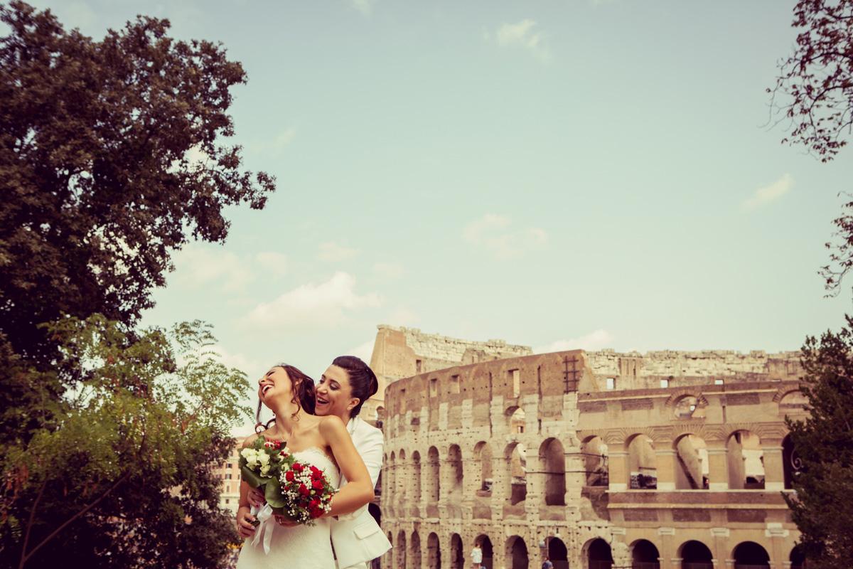 UNIONE CIVILE INTIMA A ROMA